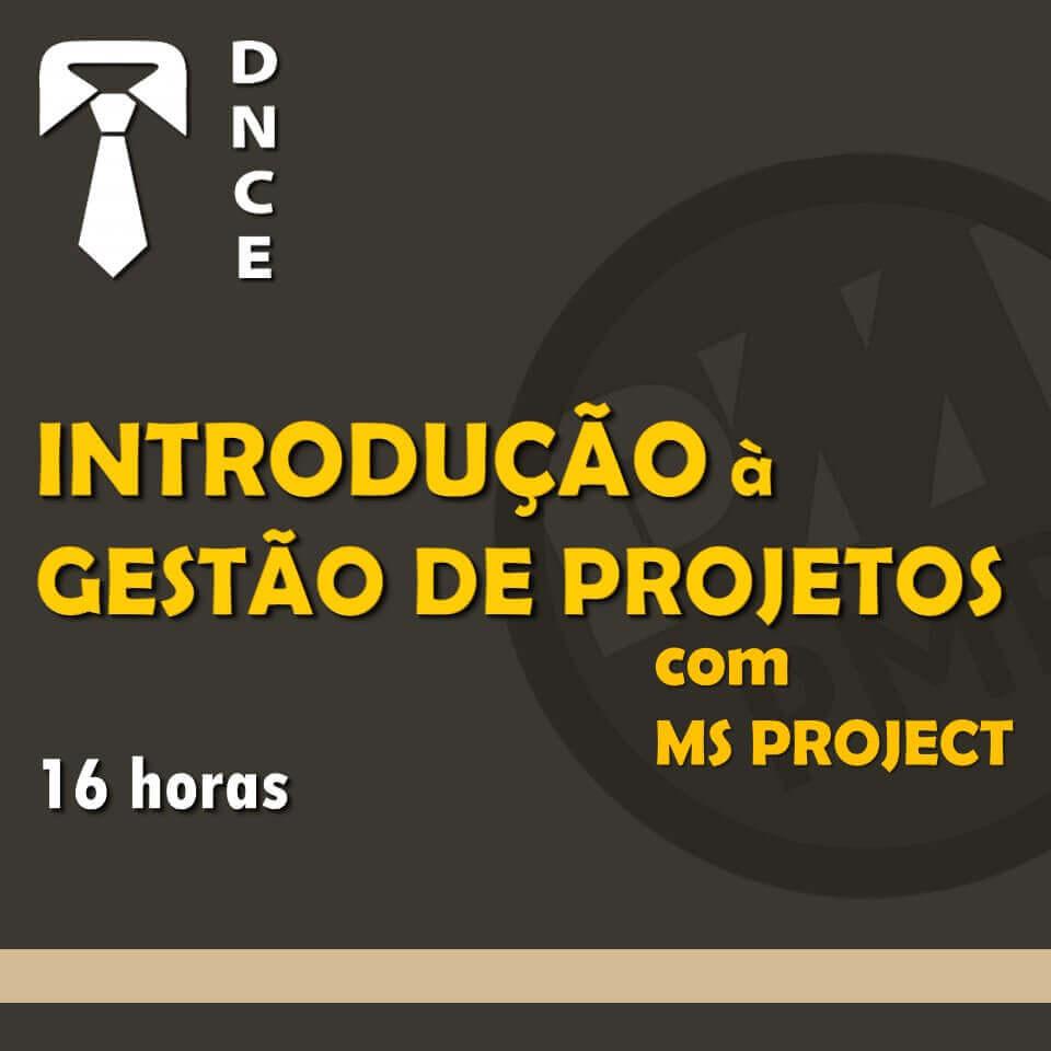 Introdução à Gestão de Projetos (PMI/PMBoK®) com MS Project 1