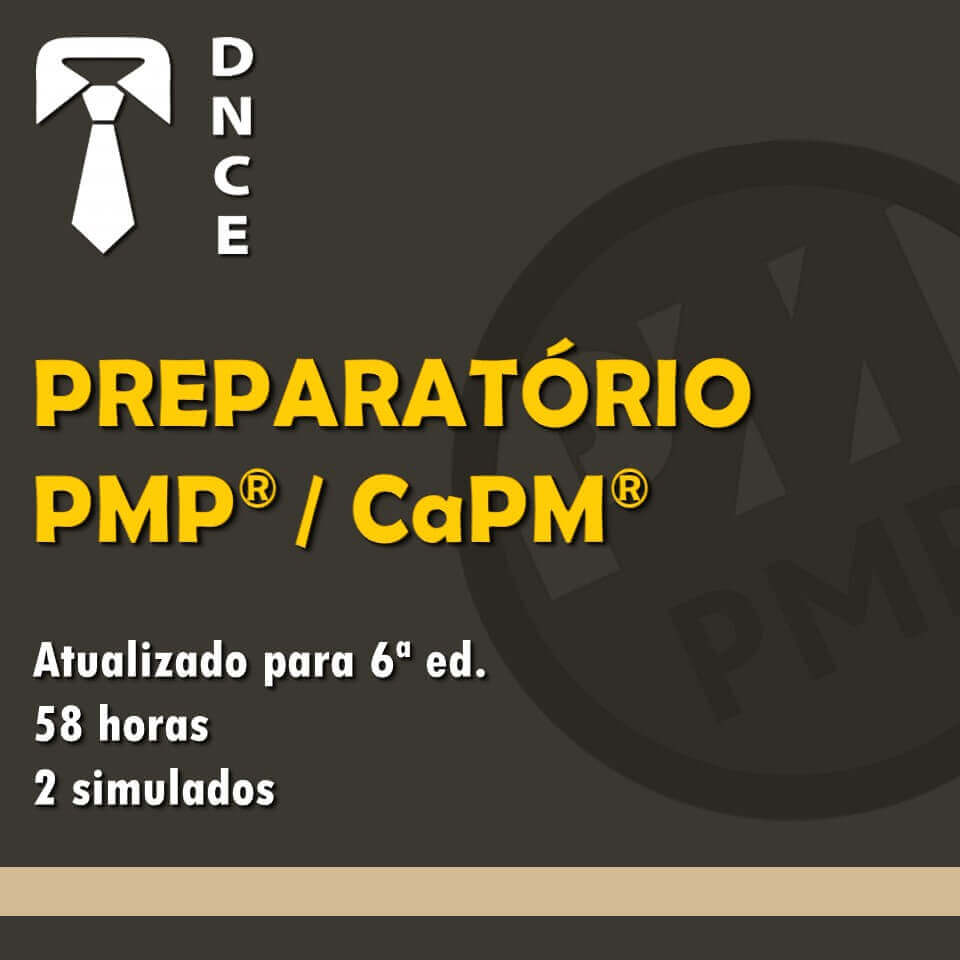 Preparatório para Certificação PMP®/CaPM® 1
